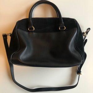 Black Leather Zara Bag